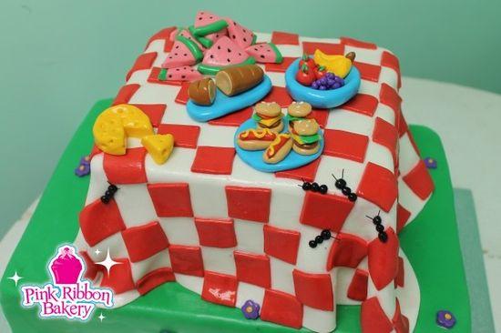 Annual Company Picnic Cake
