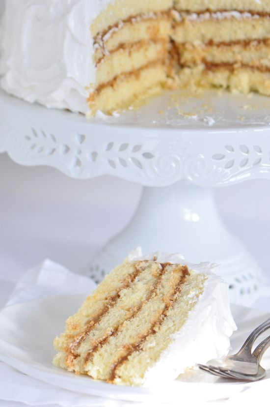 Dulce de Leche Cake Recipe