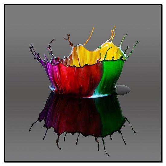 Four Color Crown by Jim Kramer