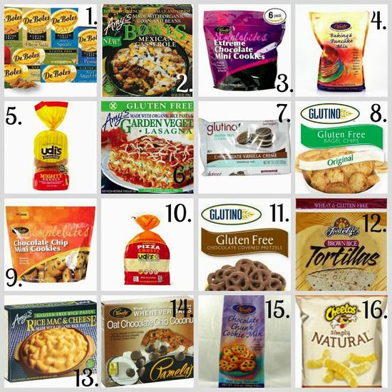 Your Gluten Free Shopping List