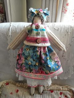 handmade doll - Biddy