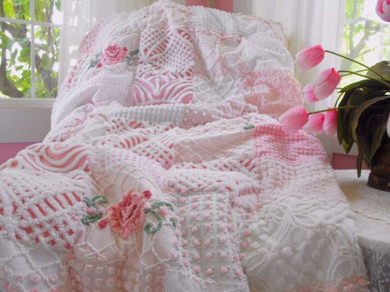 LOVE handmade quilts ?...Love chenille quilts !!!