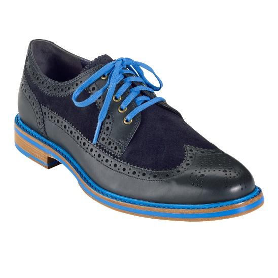 COLOR! Cooper Square Wingtip - Men's Shoes: Cole Haan