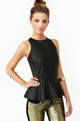 Starry Peplum Top- this site has a lot of cute clothing and shoes