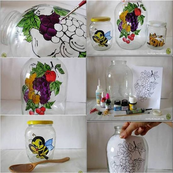 Amazing DIY Jar Painting
