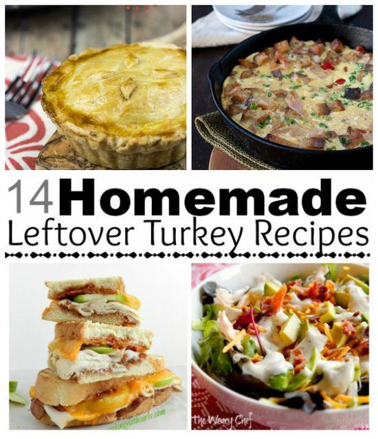 2 Weeks of Amazing Holiday Turkey Leftovers Recipes
