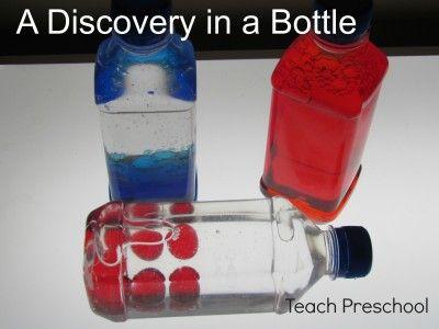 Discovery Bottles by Teach Preschool