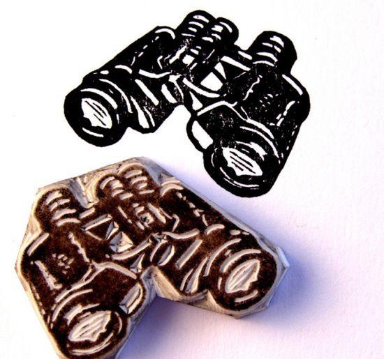 Jackbear hand carved stamps.
