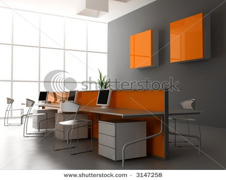 New Office Concept: 3d Office Interior Design Trends 2