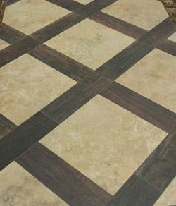 Love this flooring idea