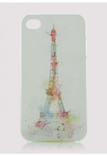 Eiffel Tower Cellphone Case for Iphone4/4s - Retro, Indie and Unique Fashion
