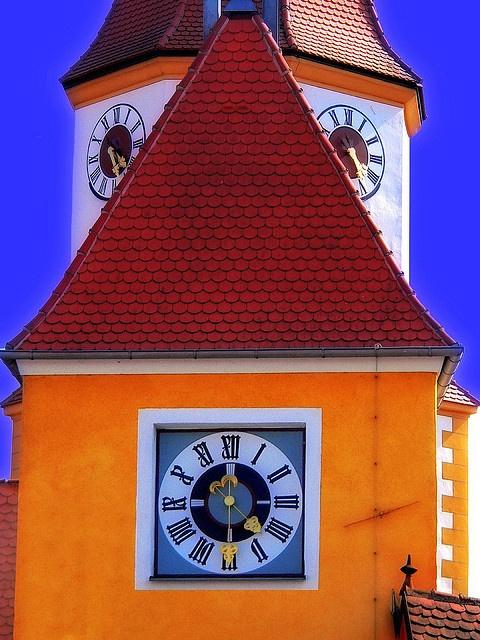 Clock, Oberpfalz, Bavaria, Germany