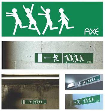 Guerrilla marketing - Axe