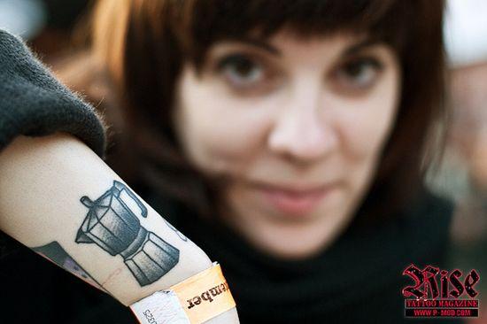Coffe tattoo