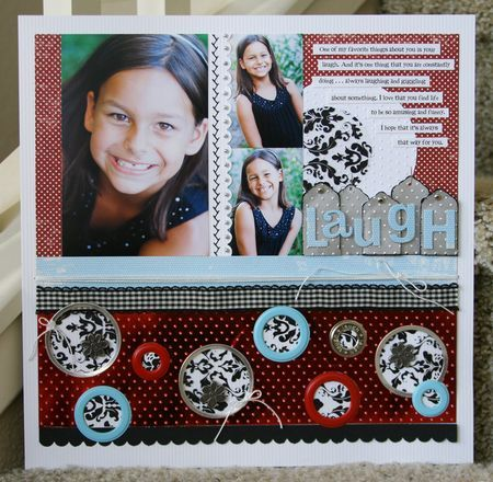 scrapbook layout @Laura Jayson vegas