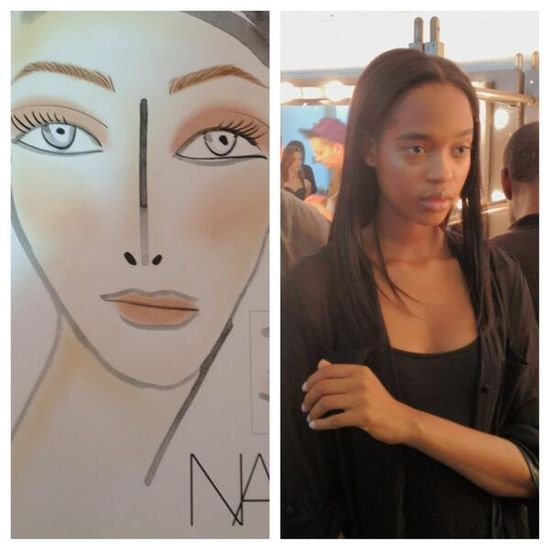 Nude makeup by NARS