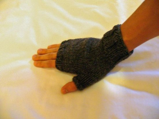 Merino wool fingerless gloves are perhaps not the warmest, but for campfire cooking and managing the thousand other camping tasks, free fingers make fast, safe work (via Etsy)