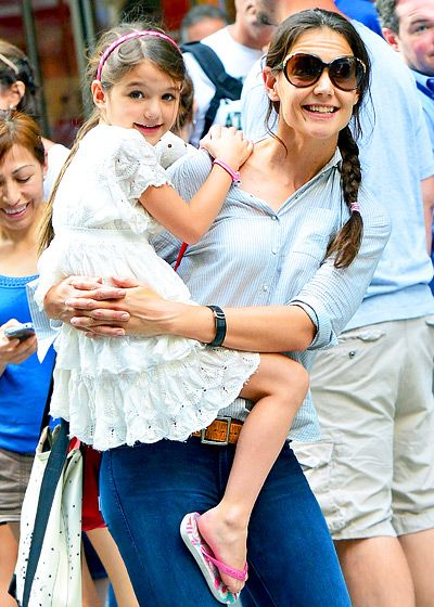 Celebrities and Their Lookalike Kids: Katie Holmes and Suri Cruise