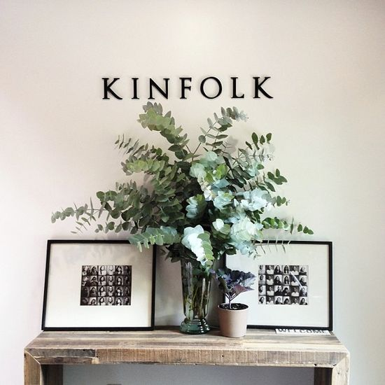 Eucalyptus in Kinfolk #interior #design #office