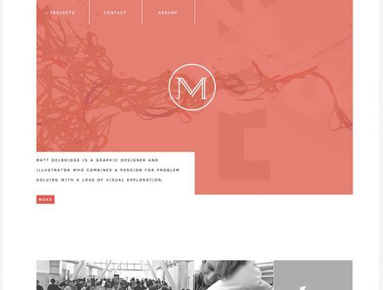 nice portfolio site
