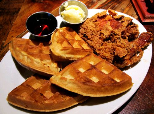 Chicken and waffles food waffles chicken yum food cravings eats yummy food food photos food images food pictures