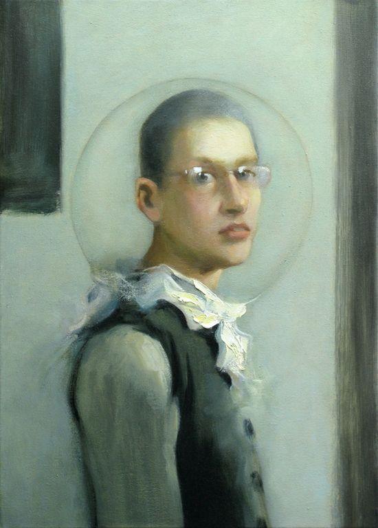 "Saatchi Online Artist: Kai McCall; Oil, 2012, Painting ""Major Tom"""