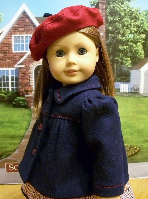 Wool Classic 3/4 coat and beret 1944  by Keepersdollyduds, via Flickr