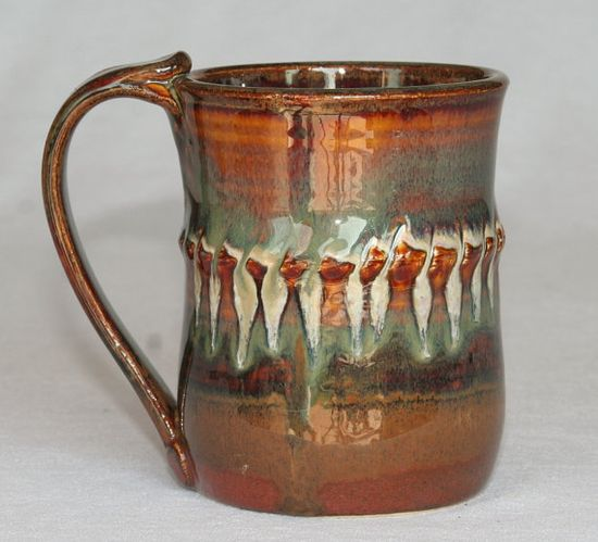 Ceramic mug handmade pottery
