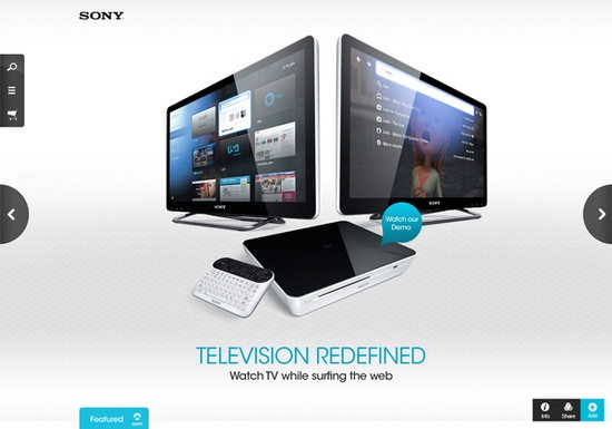 Sony Redesign 2010 on Behance