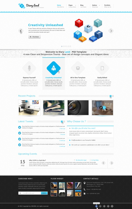 best wordpress themes for architects and architectural, 25 clean ...