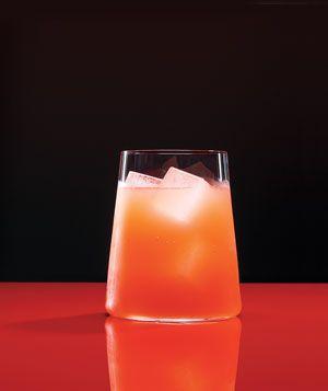 Tequila grapefruit splash.