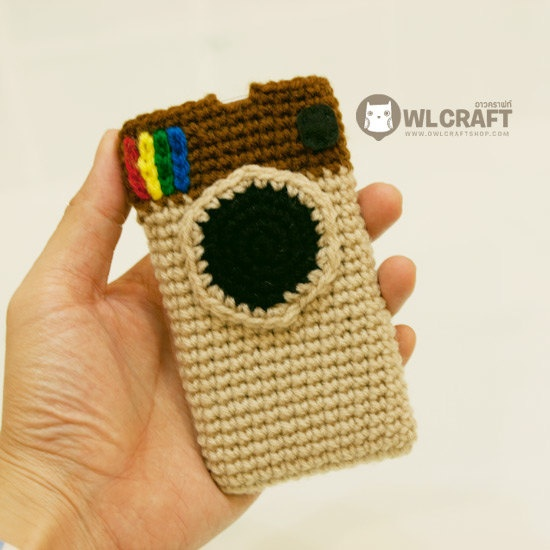 $15 - Instagram iPhone iPod Crochet Handmade Case