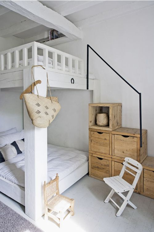 I would have killed to have these bunk beds as a kid!