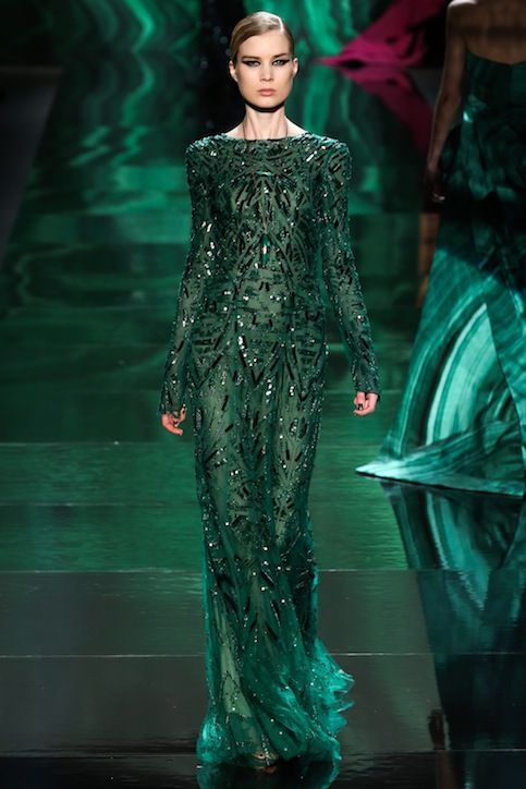 Designers are wild about Emerald Green #Evanora