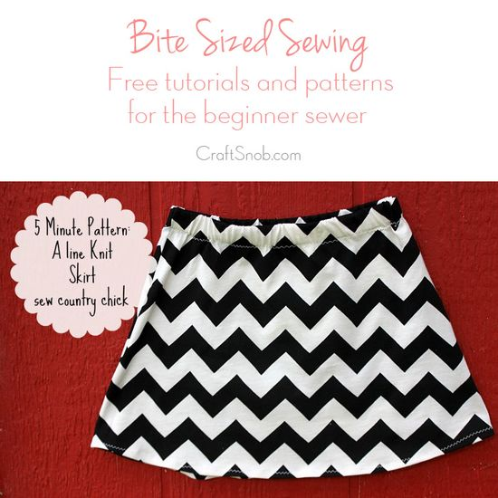 How to Make an A Line Skirt