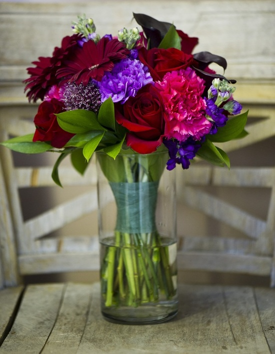Vibrant summer bouquet (JBe Photography)