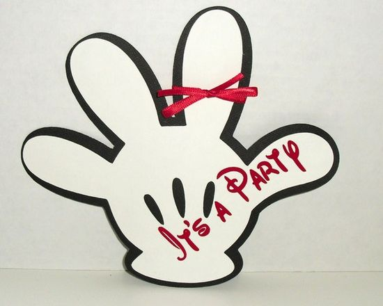 Mickey Mouse Invite