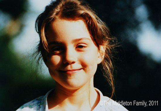 kate middleton aged 5