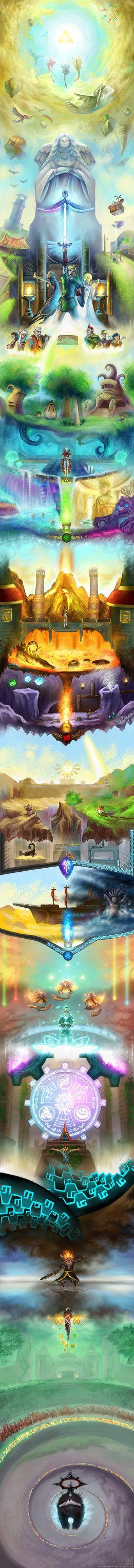 Skyward Sword art