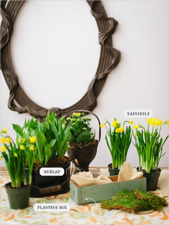 Lovely spring floral DIY