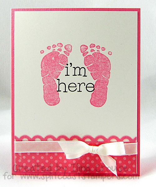 Cute baby announcement or card but in blue