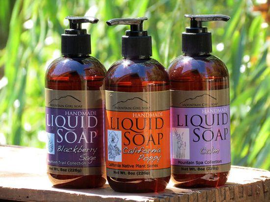 Handmade Liquid Soap