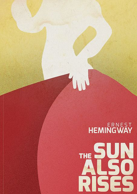 Fiesta or The Sun Also Rises E. Hemingway #BookCover by Stefano Reves #book #cover