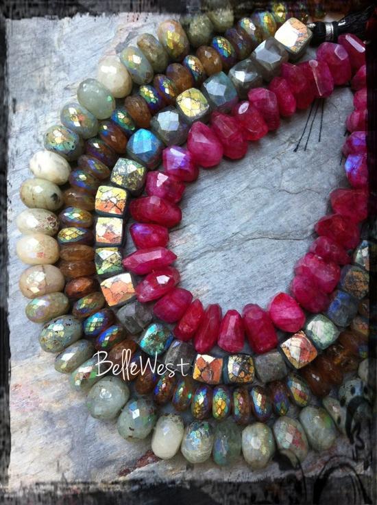 ? beautiful AB gemstones I'll be carrying soon... ?