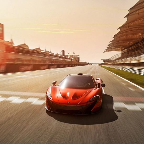Phenomenal McLaren P1