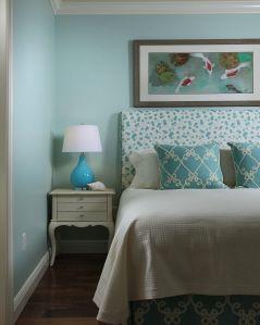 lovely blue room