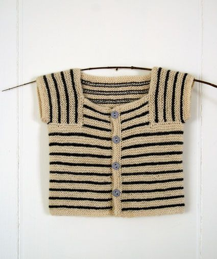Whit's knits little baby sweater (the purl bee)