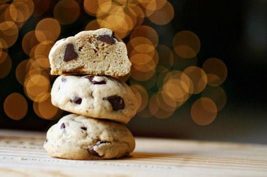 Chocolate Chip Cookie Dough Cookies