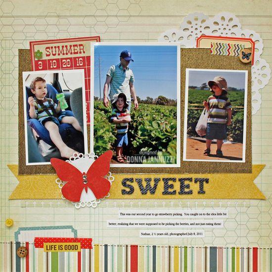 sweet {Simple Stories} - Scrapbook.com