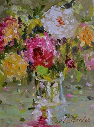"""Vintage Roses"" - © CECILIA ROSSLEE"